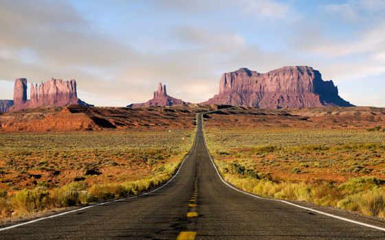 дорога, route, пустыня, сша,