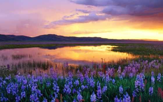 горы, закат, пейзажи -, похожие, oblaka, закате, отражение, ilyshev, фотографий, кругосветка, яndex,