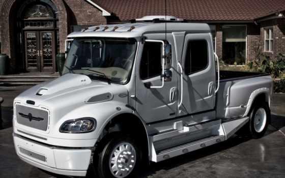 trucks, freightliner, международный