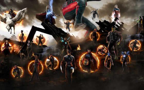 avenger, эндшпиль, scene, final, битва, thano, iron, movie, клип, плакат