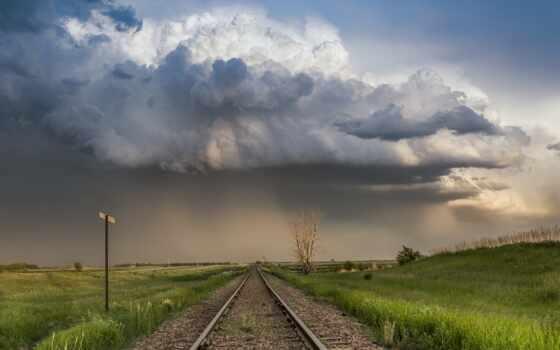 трек, железный, railroad, поезд