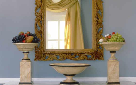 ванная, стиле, дизайн