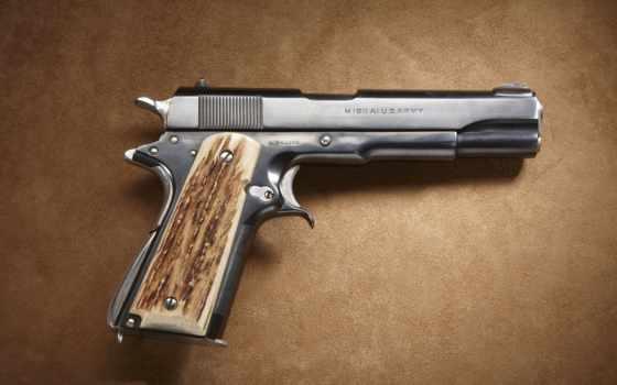 пистолет, высокого, качества
