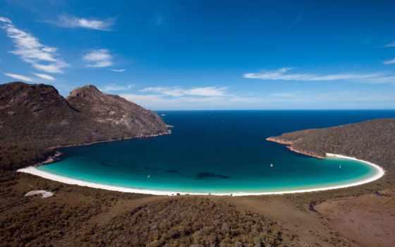 факт, штат, виктория, wineglass, пляж, австралия, водопад,