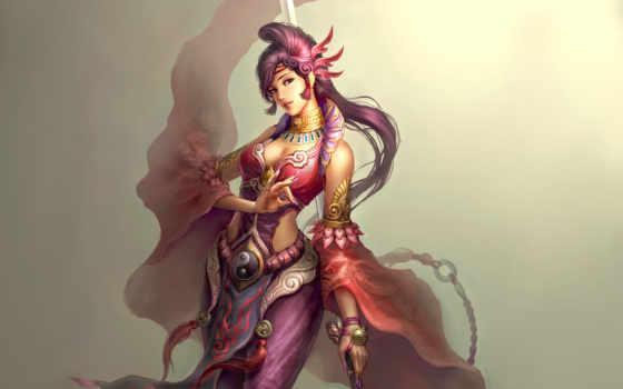 женский, taoist, desktop