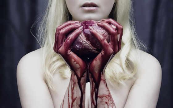 кровь, сердце, руки