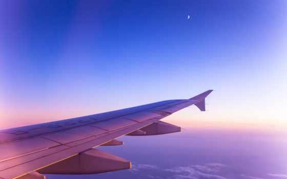 oblaka, крыло, небо, самолета, самолёт, авиация, month, назад, md,