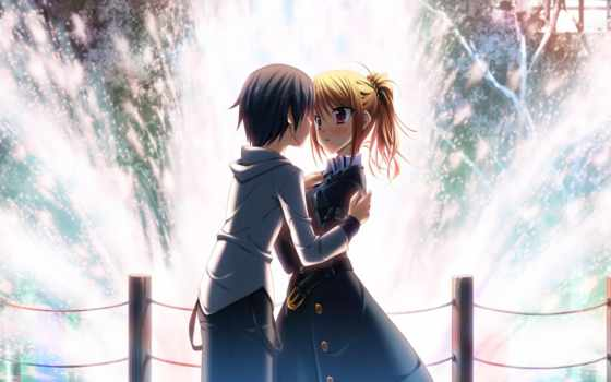 love, anime, пара, cute, pair, best,