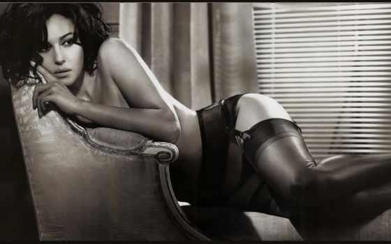 моника, bellucci, sexy, photos, art, bonne, dire, vous, voudrait, topless, nuit,
