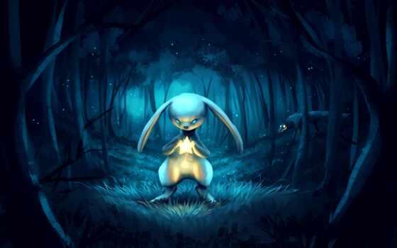 кролик, заяц, art, darkness, illustration, фантастика