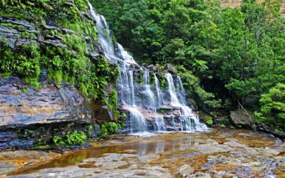 водопады, природа, ticino