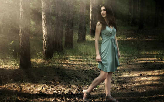 mujer, paisaje, naturaleza, hermosa, fotos, archivo, joven, imágenes, stock,