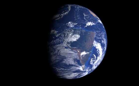 earth, planet, космос, орбита, side, спутник, prev, dark