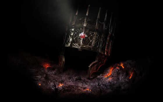 ворона, dark, soul, king, iron, game