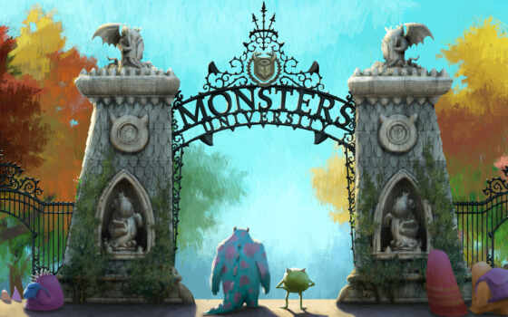 monsters, inc, university