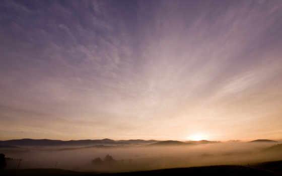 лес, восход, elfen, lied, bavarian, закат, бесплатные, fotos,
