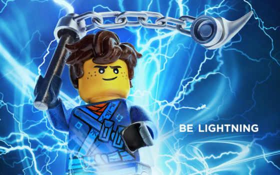 lego, ninjago, ниндзяго, movie, сниматься, animated, плакат, джей, lightning,