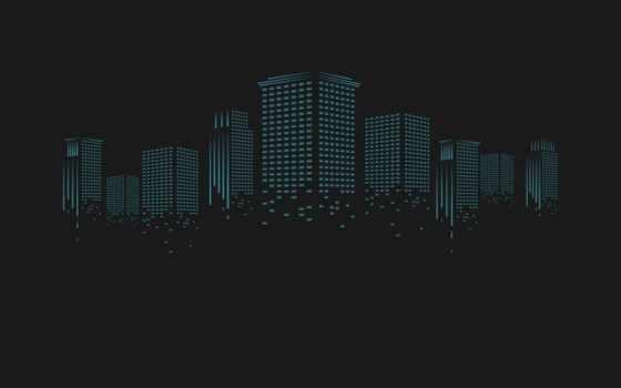 черный, город