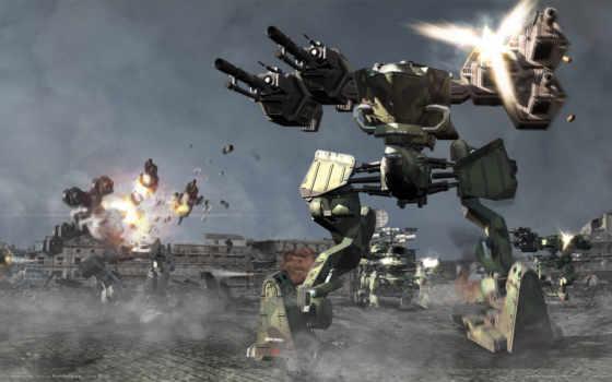 роботы, боевых, корабли