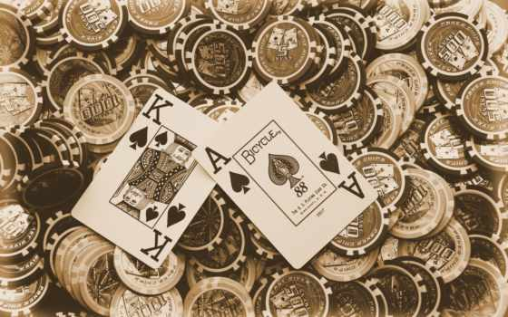 покер, фишки, карты, рисунки, игры,