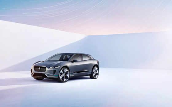 jaguar, pace, concept, кроссовер, нояб, electric, video,