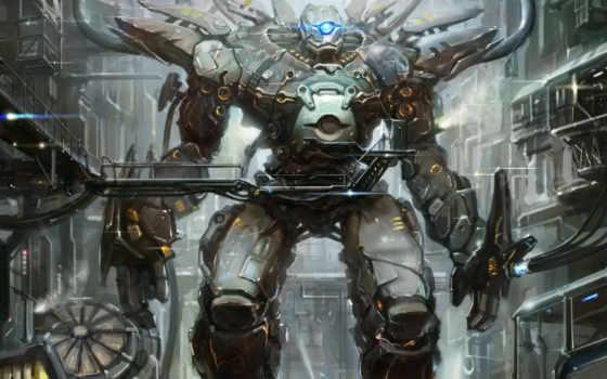 deviantart, robots, об