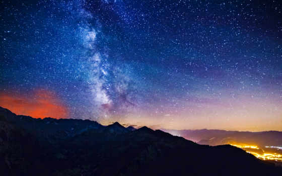 stars, ночь, served