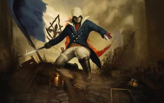 creed, assassin, unity Фон № 79546 разрешение 1920x1080