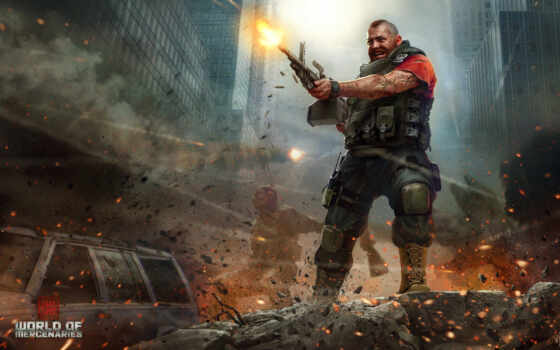 world, mercenaries, interactive, город, fps, shooter, unreal, engine,