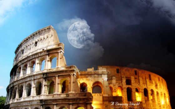 колизей, coliseum, рим, изображений,