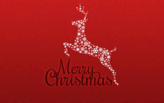christmas, merry, free, download, новый, год, минимализм, олень, desktop, hinh, nen, красный, live,