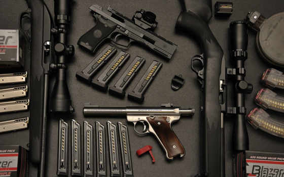 armas, fondos, pantalla