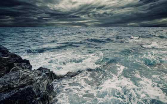 море, волны, ocean