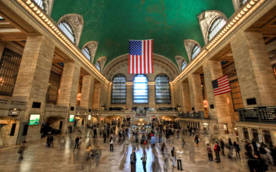 центральный, grand, new, нью, york, terminal, станция, картинка,