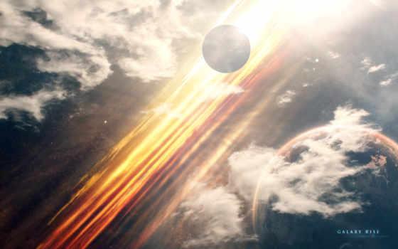 cosmos, планеты, звезды Фон № 116466 разрешение 1920x1200