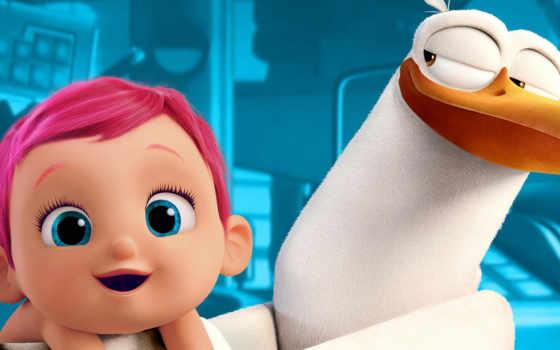 аисты, cartoon, storks, мультфильмы, сентября, youtube, trailer, анимация, мультфильма, ребенок,