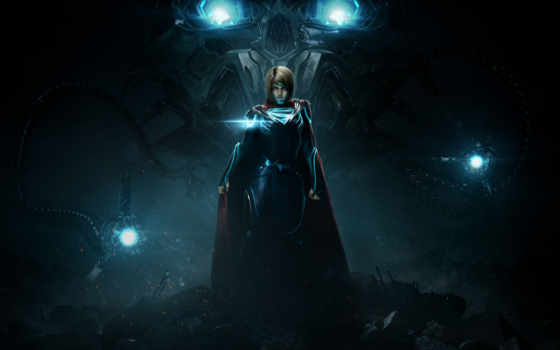injustice, supergirl, mobile, desktop, high, batman, superman, game,