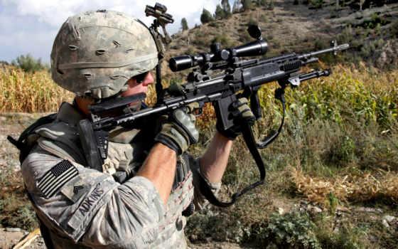солдат, американский, army, целится, rifle, soldiers, assault, показывать, эротику, оружие, девушками, rifles, bild,