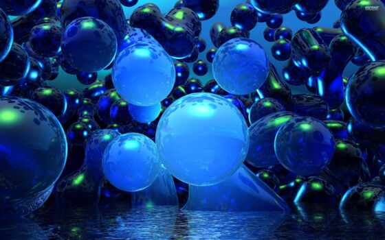bubbles, blue