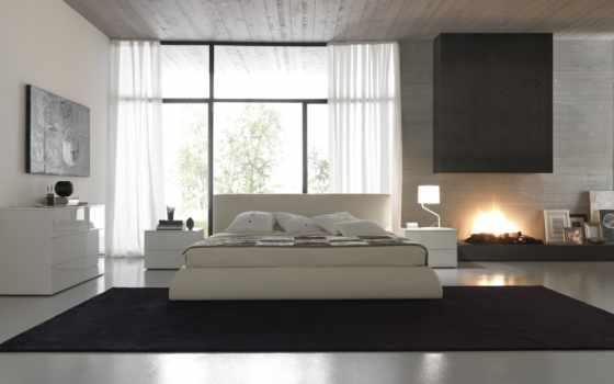 белая спальня, мебель