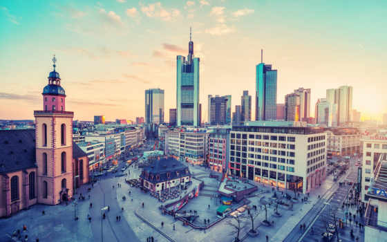 frankfurt, германия, cityscapes, город, am, cities,