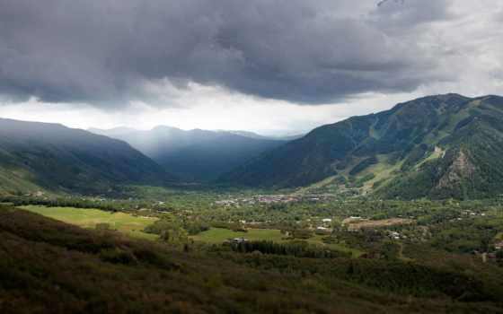 desa, gunung, pegunungan, antara, windows, ди, awan, colorado, dapat, дек,