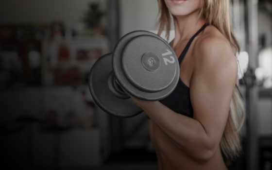 упражнения, рук, девушек, упражнение, женщин, дома, мышцы, спины, фитнес, тренировки, силовые,
