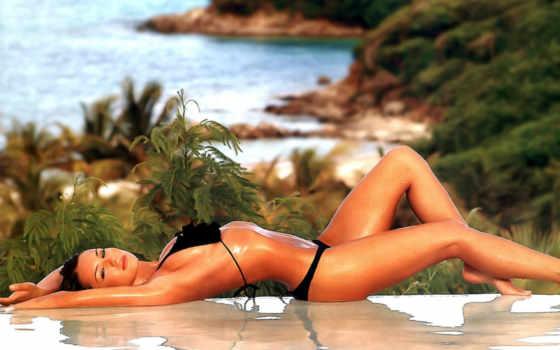 девушка, девушек, devushki, пляже, summer, загорает, photograph, без,