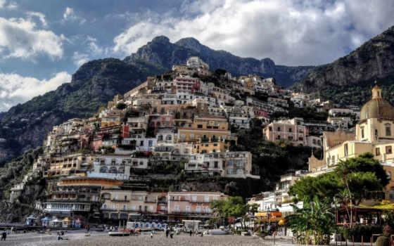 positano, free, italy, деревня, pictures, экскурсия, фото,
