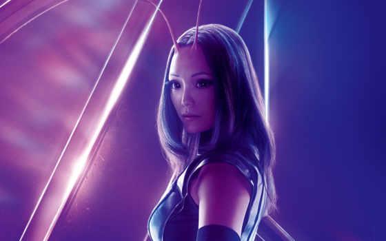 avengers, war, бесконечность, mantis, pom, klementieff, мстители, кадры, фильма,