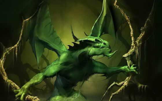 fantasy, дракон