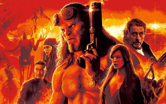 hellboy, hellba, постер