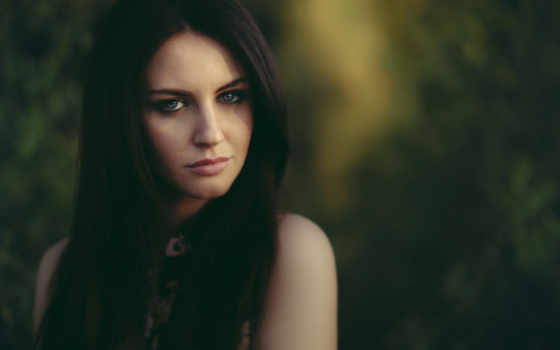 глаза, женщина, resolution, dark,
