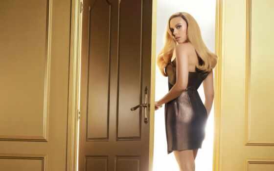 скарлетт, johansson, платье, campaign, lux, девушка, волосы, gorgeous, поза, apple